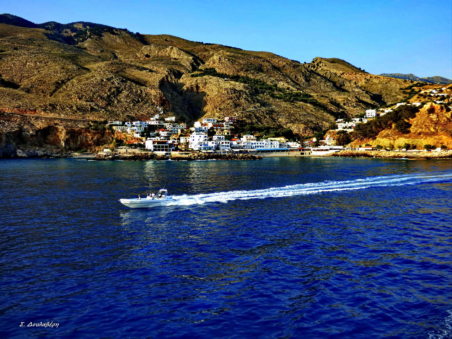 Lovely view from Sfakia port
