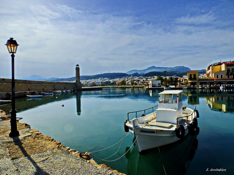 The port of Rethymno