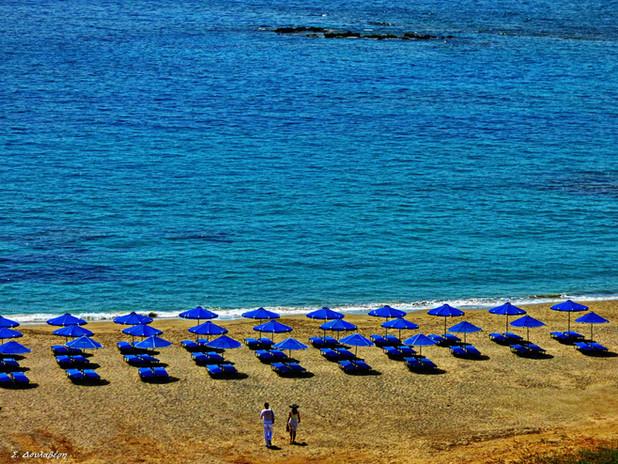 Visit Frangokastelo, a gorgeous beach with golden sand