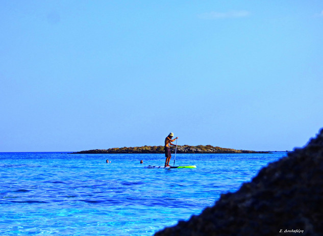 Sup in Elafonisi
