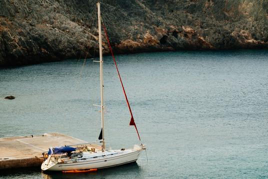 Sailing South Crete