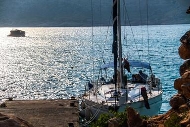 Sailing from Sfakia