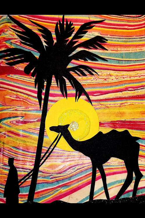Religious Holiday (Man and Camel)