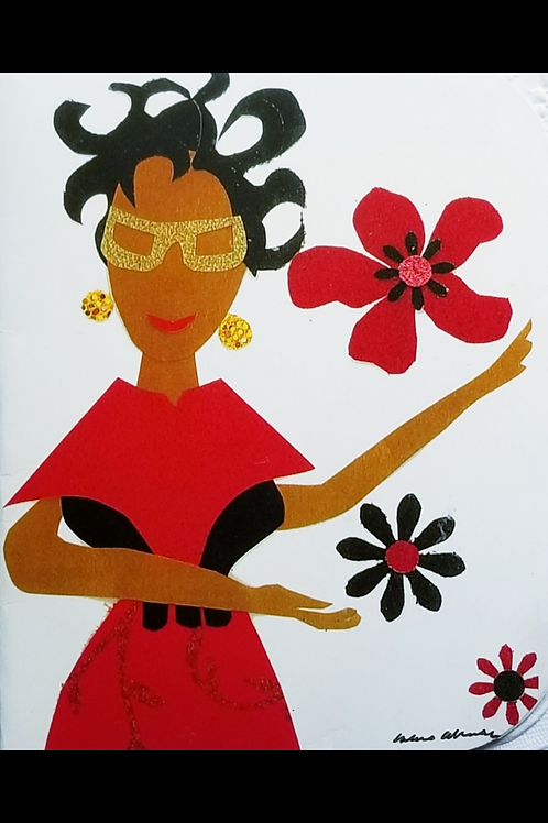 Boss Lady Note Card