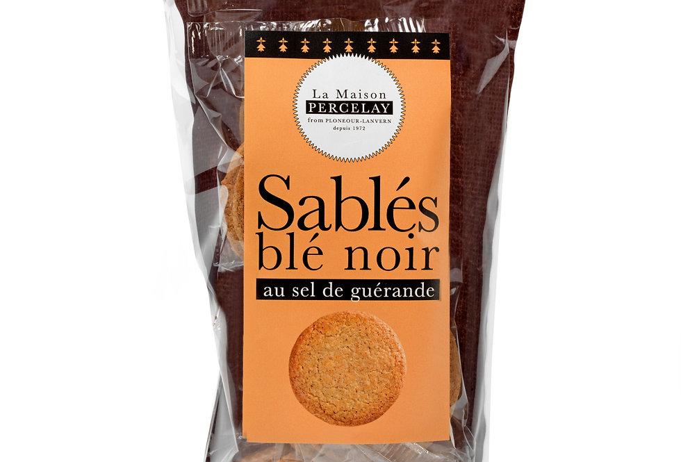 Sachet de sablés blé noir au sel de Guérande
