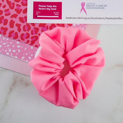 Breast Cancer Small Scrunchie