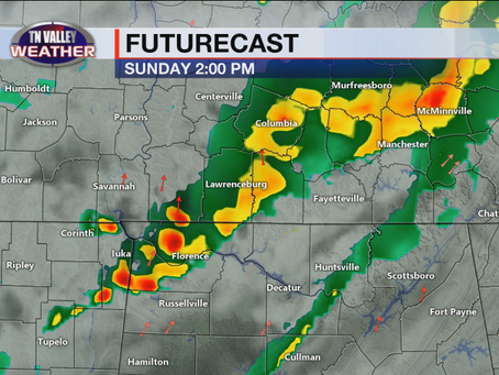 Severe Weather Possible Mother's Day