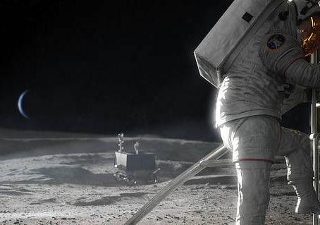 NASA Offers $45M to Solve Risks for Astronaut Moon Landing Services