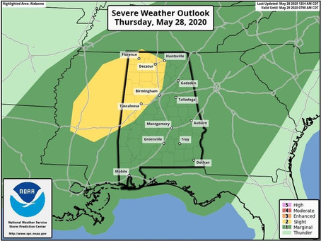 SPC Increases Severe Weather Outlook