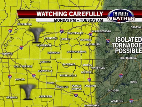 Severe Weather Possible From Remains of Tropical System
