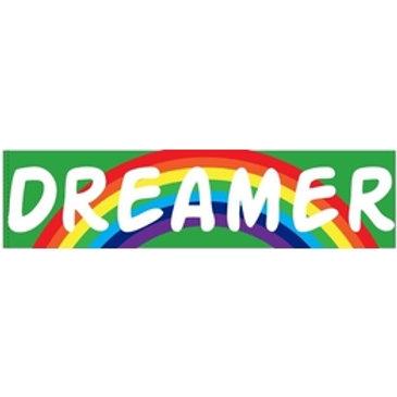 DREAMER 3 x 7 Vinyl Motivational Bumper Sticker Decal