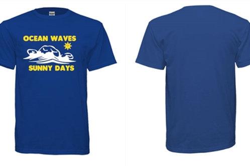 OCEAN WAVES, SUNNY DAYS Unisex T Shirt