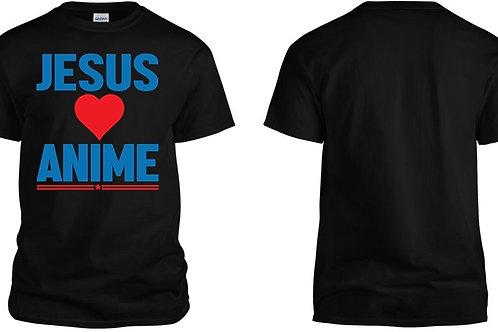 JESUS LOVES ANIME Unisex T Shirt