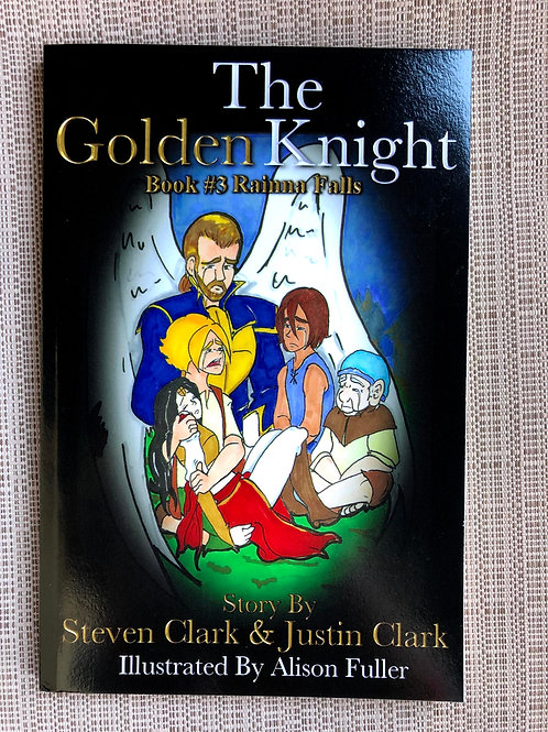 The Golden Knight #3: Rainna Falls