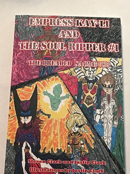 EMPRESS KAY-LI and THE SOUL RIPPER #1 The Dreaded Sacrifice DIGITAL DOWNLOAD