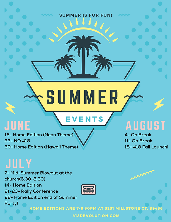 Blue Retro Summer Beach Party Flyer.png
