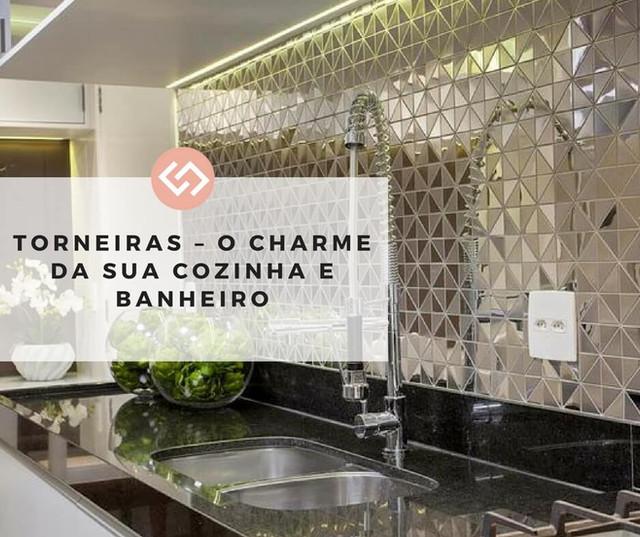 Torneiras - O Charme da Sua Cozinha e Banheiro