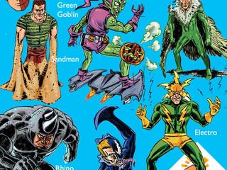 """Qual é o nome dos vilões do """"Homem-Aranha'?"""