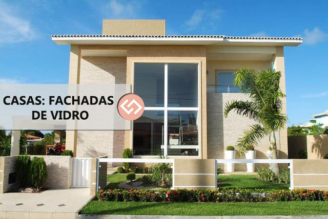Casa: Fachada de Vidro