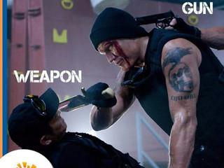 "Qual a diferença entre ""Gun"" e ""Weapon""?"
