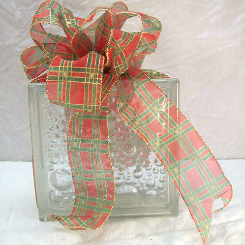 Glass Block and Ribbon