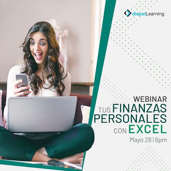 GRATIS: Webinar: Tus Finanzas Personales con Excel