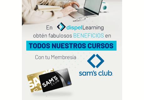 Dispel Learning y SAMS Club Descuentos