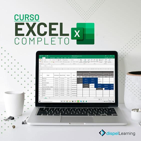 CURSO: Excel Completo (30 AGO - 09 SEP)