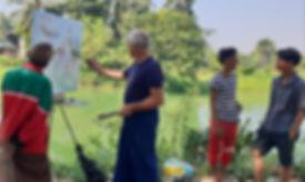 Burma/Birmanie/Myanmar/Workshop/Painting/Stage peinture/Michel Phelippeau/Yangon/plein air/stage Asie/Rangoun/Peinture en Birmanie