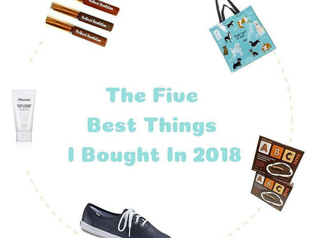 The Top Five Things I Bought in 2018