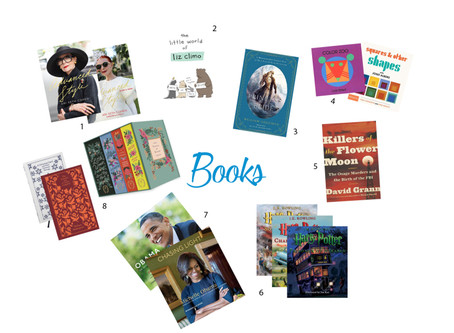 The Gift Guide For People Who Don't Want Gifts – Part Two: Books