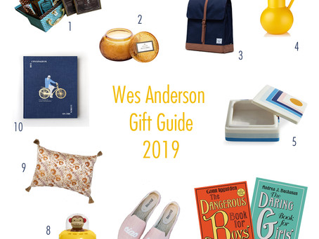 The Wes Anderson Gift Guide for 2019