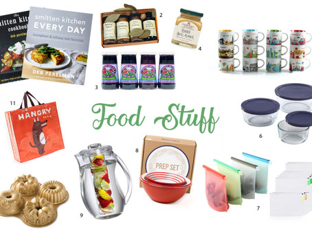 The Gift Guide For People Who Don't Want Gifts – Part One : Food