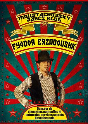Affiche artiste Moustachovsky-Fyodor Erz