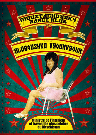 Affiche artiste Moustachovsky-Glagoushka
