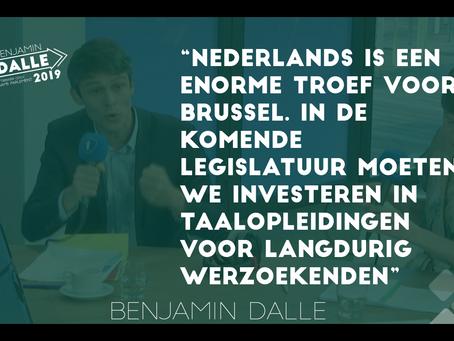 Laat Brusselse werklozen verplicht Nederlands leren