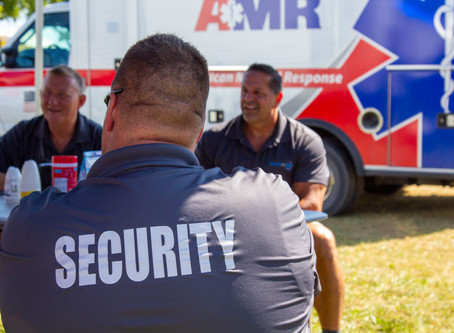 Top 2 things to consider when hiring a security guard