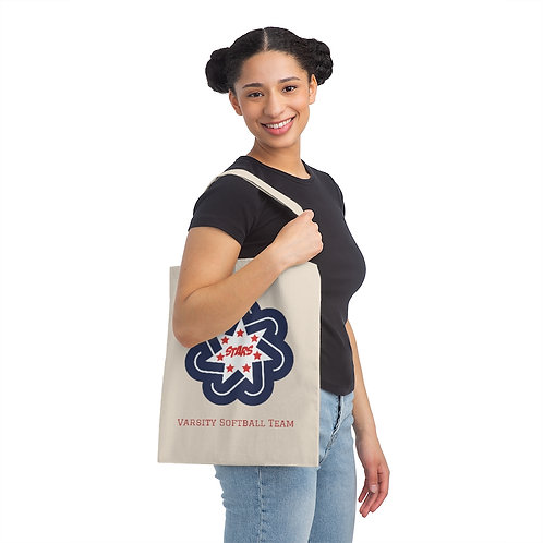Canvas Tote Bag - Bedford North Lawrence HS Softball