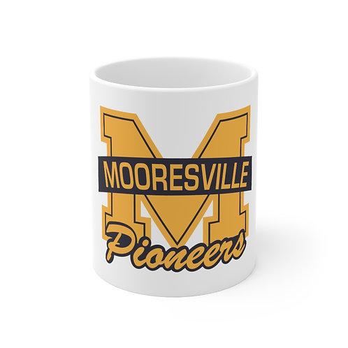 Ceramic Mug 11oz - Mooresville High School Pioneers