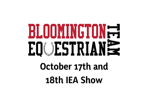 October 17th & 18th Show