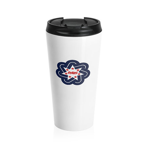Stainless Steel Travel Mug - Bedford North Lawrence High School