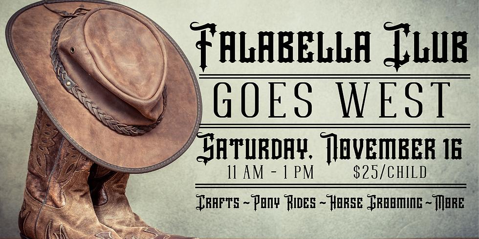 Falabella Club Goes West