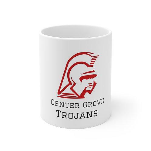 Ceramic Mug 11oz - Center Grove High School Trojans