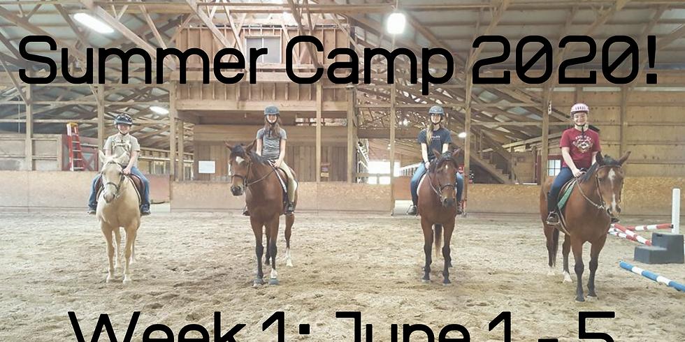 Summer Camp Week 1: June 1 - 5
