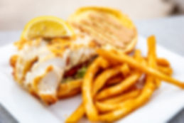 The gorgeous Grouper Sandwich