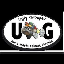 Sticker - Anna Maria Island Oval