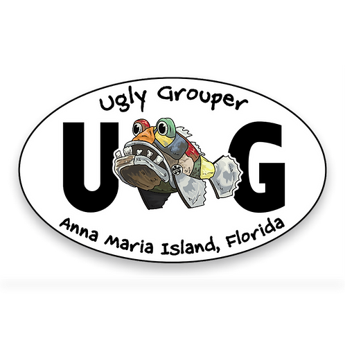 Sticker - Anna Maria Island Oval
