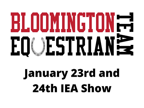 January 23rd & 24th Show