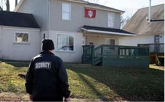 Guard at house.JPG
