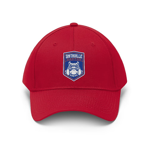 Smithville Scrappers Baseball Cap - Red Twill